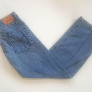 Levi's 569 boys blue denim jeans size16 reg 28x28.